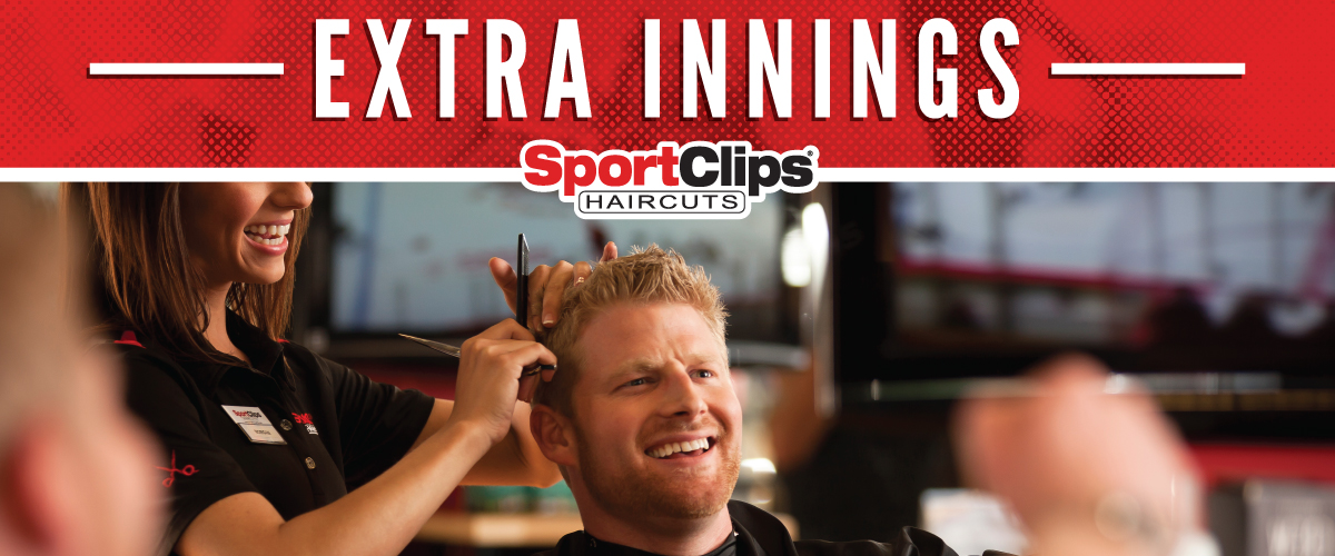 The Sport Clips Haircuts of Rogers Extra Innings Offerings